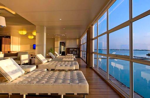Seaplane Lounge, Warten auf Transfer, Relax, Conrad Maldives Rangali Island, Maldives