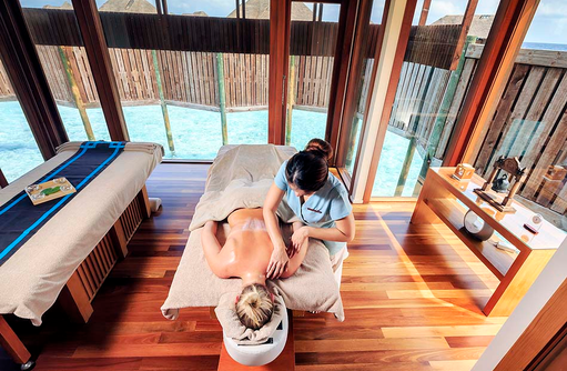 The Spa Retreat, Massage, Conrad Maldives Rangali Island, Maldives