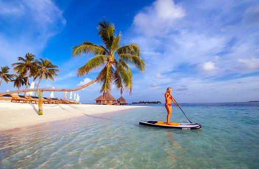 Standup Paddling, Conrad Maldives Rangali Island, Maldives
