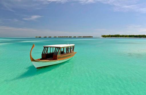 Dhoni, Conrad Maldives Rangali Island, Maldives