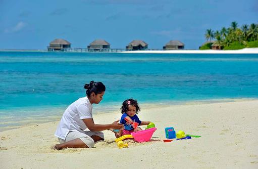 Nanny, Kinderbetreuung, Conrad Maldives Rangali Island, Maldives