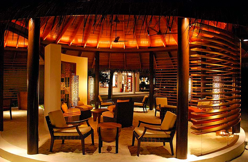 Bar, Lounge, Constance Halaveli Resort, Maldives
