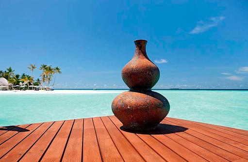 Architektur, Kunst, Constance Halaveli Resort, Maldives