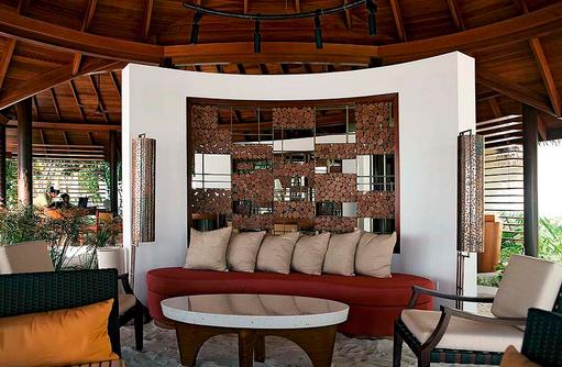 Haupteingang, Constance Halaveli Resort, Maldives
