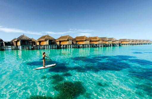 Wassersport, Stand-Up Paddeling, Constance Moofushi Resort, Malediven