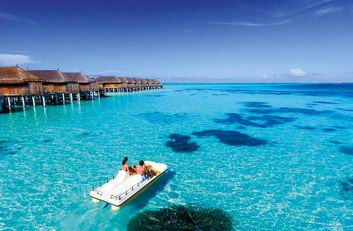 Wassersport, Tretboot, Constance Moofushi Resort, Malediven