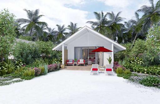 Beach Villa, Cora Cora Maldives