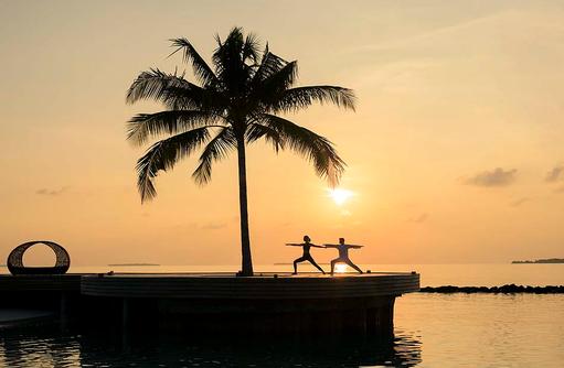 Yoga, Dhigali Maldives