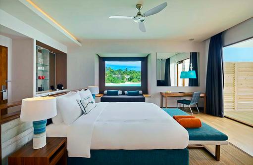 Beach Villa mit Pool, Dhigali Maldives