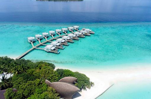 Türkisblaues Meer, Dhigali Maldives