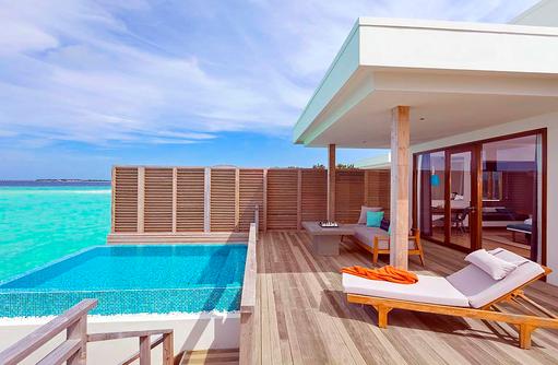 Lagoon Villa mit Pool, Dhigali Maldives