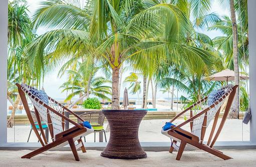 Sitzmöglichkeiten, Dhigali Maldives