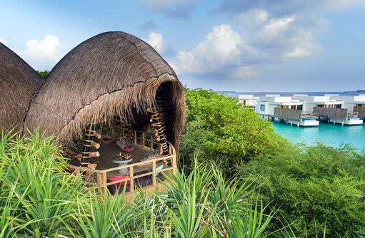 Haali von außen, Dhigali Maldives