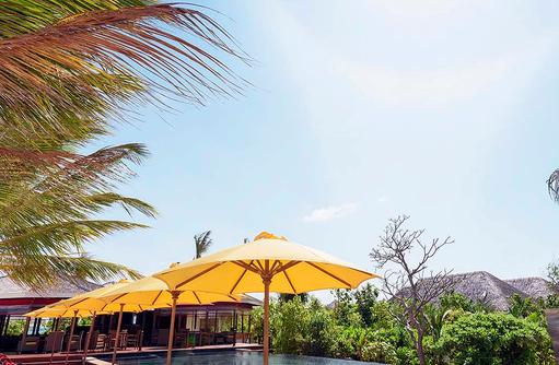 Wohlfühlort, Thundi Pool, Dhigufaru Island Resort