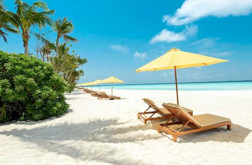 Strandbild, Dhigufaru Island Resort