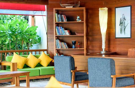 Bibliothek, Dhigufaru Island Resort