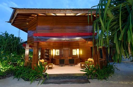 Willkommen, Rezeption, Dhigufaru Island Resort