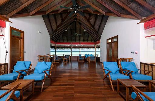 Innenansicht Kakuni Recreation Center, Dhigufaru Island Resort