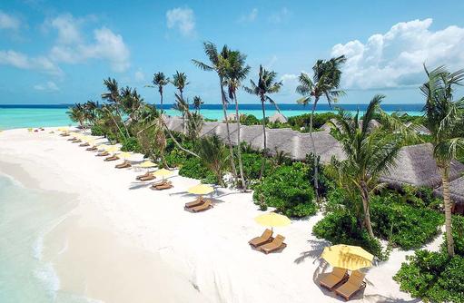 Beach Villen im Dhigufaru Island Resort