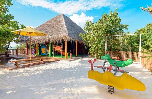 Toben im Braveli Kids Club, Dhigufaru Island Resort