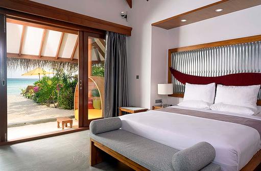 Schlafzimmer Villa, Dhigufaru Island Resort