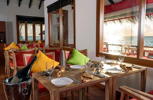 Athiri Speciality Restaurant, Dhigufaru Island Resort