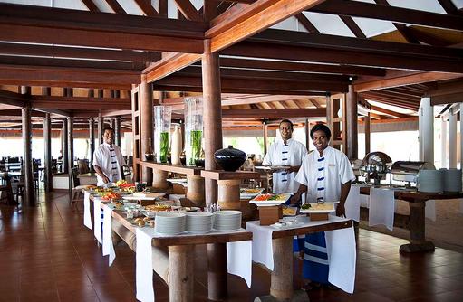 Maakeyn Buffet Restaurant, Frühstück, Diamonds Athuruga Beach & Water Villas, Maldives