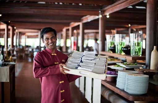 Maakeyn Buffet Restaurant, Personal, Diamonds Athuruga Beach & Water Villas, Maldives