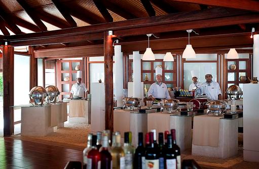 Maakeyn Buffet Restaurant, Cooking Staff, Diamonds Athuruga Beach & Water Villas, Maldives