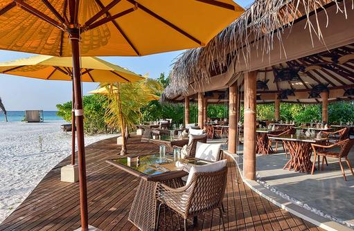 Restaurant, Terrasse, Drift Thelu Veliga Retreat, Malediven