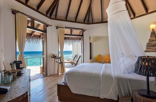 Water Villa, Schlafen, Drift Thelu Veliga Retreat, Malediven