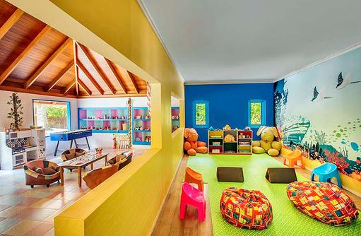 Kids Club, Innenbereich, Dusit Thani Maldives