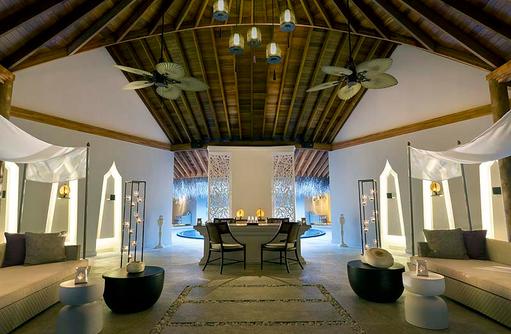 Devanara Spa, Rezeption, Dusit Thani Maldives