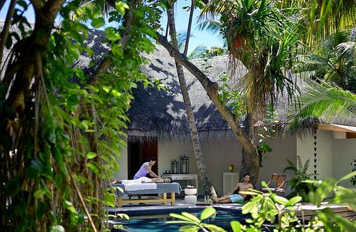 Devanara Spa, Erholen und Entspannen, Dusit Thani Maldives