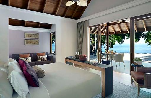 Beach Villa, Schlafen, Dusit Thani Maldives