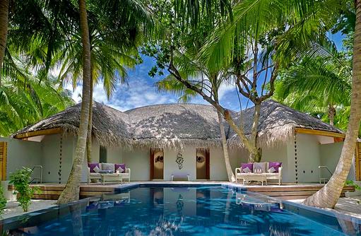 Devenara Spa, Relaxen, Pool, Dusit Thani Maldives