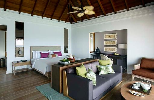 Ocean Villa with Pool, Wohnen, Schlafen, Dusit Thani Maldives