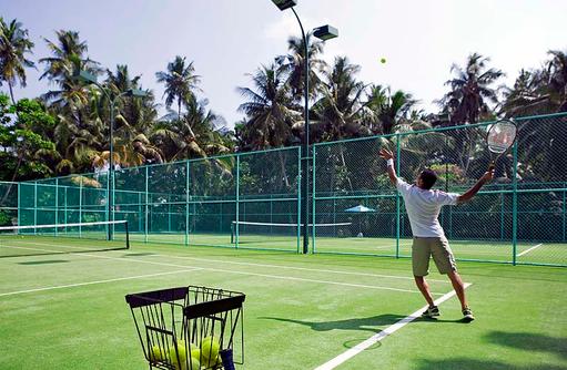 Tennisplatz, Dusit Thani Maldives