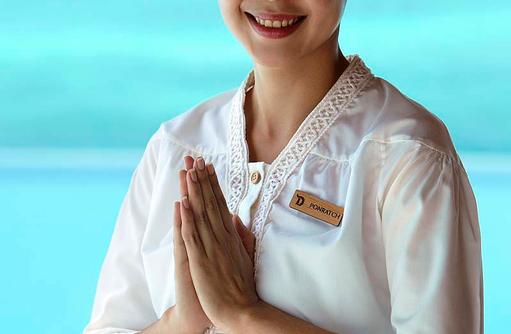 Freundlicher Exzellenter Service, Dusit Thani Maldives