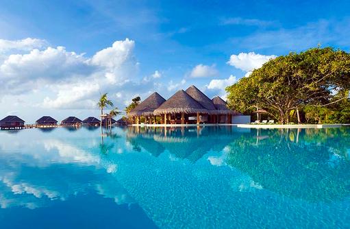 Sand Bar, Hauptpool, Dusit Thani Maldives