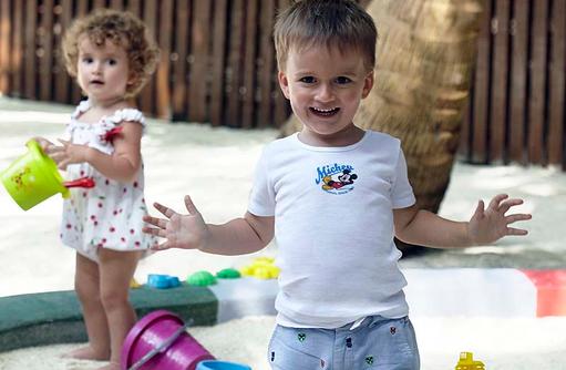 Baan Sanook Kids Club, Spaß im Sand, Dusit Thani Maldives