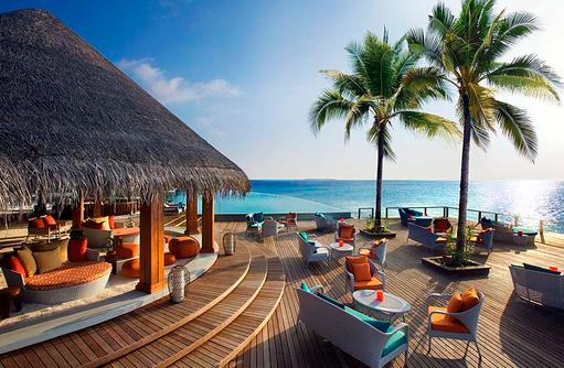 Sand Bar, Aussenterrasse, Dusit Thani Maldives