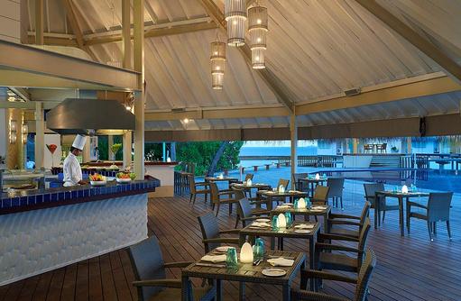 Malamathi Restaurant, Innenbereich, Ellaidhoo Maldives by Cinnamon