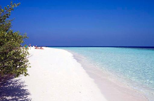 Traumstrand, Embudu Village, Maldives