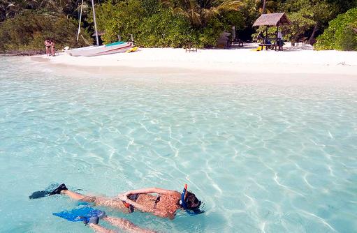 Schnorcheln, Strand, Embudu Village, Maldives