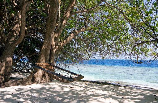 Hängematte, Relax, Embudu Village, Maldives