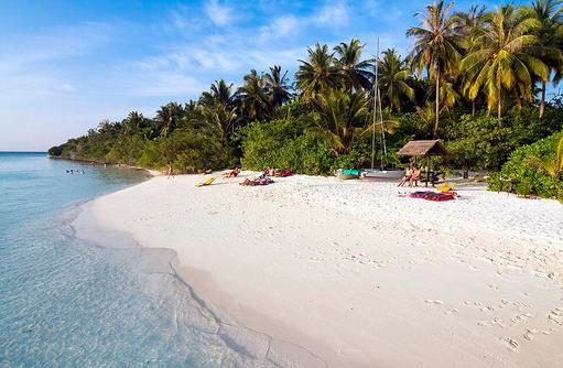Strand, Embudu Village, Maldives