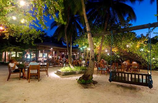Bar, Außenbereich, Garten, Embudu Village, Maldives