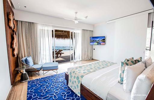 Schlafbereich,Emerald Maldives