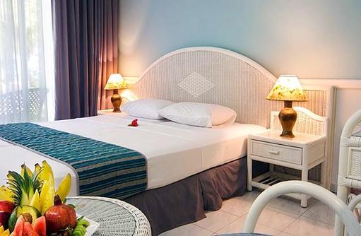 Bett, Doppelzimmer, Equator Village
